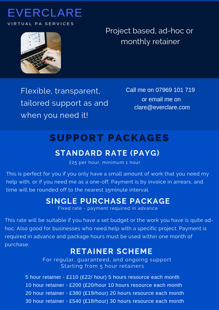 standard rate2 (Payg)